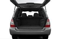 2007 Subaru Forester, trunk space, interior, manufacturer