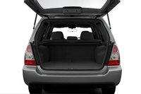 2007 Subaru Forester, trunk space, manufacturer, interior