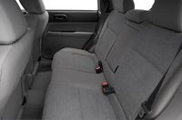 2007 Subaru Forester, back seats, manufacturer, interior