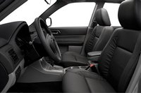 2007 Subaru Forester, front seat, interior, manufacturer, gallery_worthy