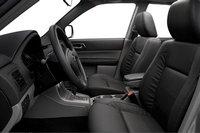 2007 Subaru Forester, front seat, interior, manufacturer