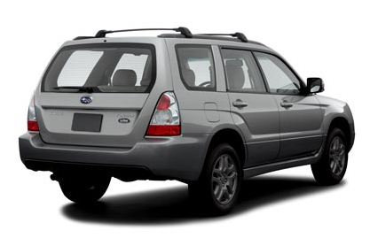 2007 Subaru Forester, 07 Subaru Forester, exterior, manufacturer