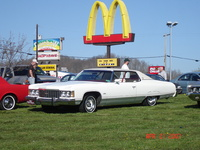 1974 Chevrolet Impala, Car show at Mannington WV
