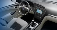 2007 Saab 9-3, aerial view of front seat, interior, manufacturer, gallery_worthy
