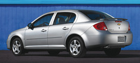 2005 Chevrolet Cobalt, Rear Quarter Profile, manufacturer, exterior