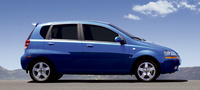 2007 Chevrolet Aveo Aveo5 LS, Side Profile, exterior, manufacturer