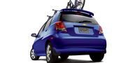 2007 Chevrolet Aveo Aveo5 LS, Rear Profile, exterior, manufacturer