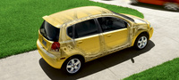 2007 Chevrolet Aveo Aveo5 LS, Above Side Profile, exterior, manufacturer
