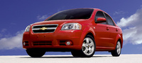 2007 Chevrolet Aveo LT, Front Quarter Profile, exterior, manufacturer