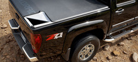 2007 Chevrolet Colorado LT1 Crew Cab 4WD, Rear Quarter Profile, manufacturer, exterior