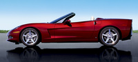 2007 Chevrolet Corvette Convertible, Side Profile, exterior, manufacturer