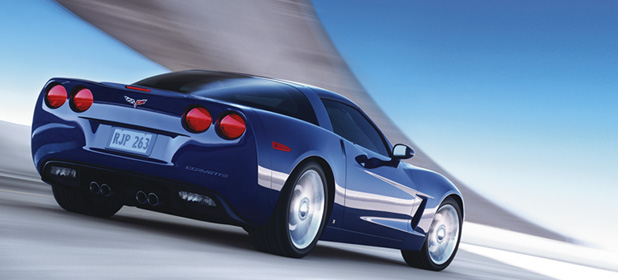 2007 Chevrolet Corvette Coupe, Rear Profile, exterior, manufacturer