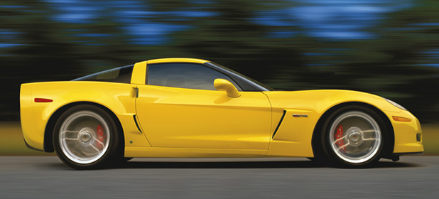 2007 Chevrolet Corvette Z06, Side Profile, manufacturer, exterior