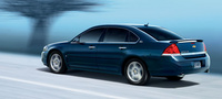 2007 Chevrolet Impala, Rear Quarter Profile, manufacturer, exterior
