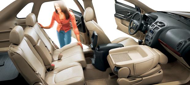 2007 Chevrolet Malibu Maxx LTZ, Seat Profile, interior, manufacturer