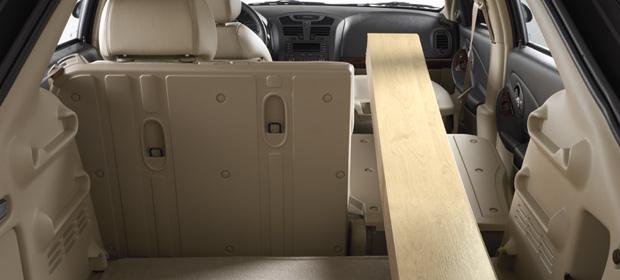 2007 Chevrolet Malibu Maxx LTZ, Cargo Bay, interior, manufacturer