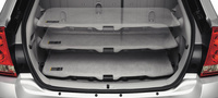 2007 Chevrolet Malibu Maxx LTZ, Rear Cargo Panel, interior, manufacturer