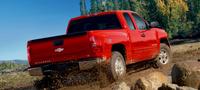 2007 Chevrolet Silverado 1500 LT1 Ext. Cab SB 4WD, Rear Profile, exterior, manufacturer