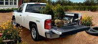 2007 Chevrolet Silverado 1500 Work Truck 4WD, Rear Quarter Profile, exterior, manufacturer