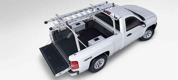 2007 Chevrolet Silverado 1500 Work Truck 4WD, Above Profile, exterior, manufacturer