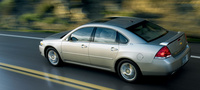 2008 Chevrolet Impala LT, Above Side Profile, manufacturer, exterior