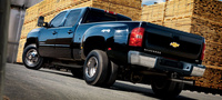 2008 Chevrolet Silverado 3500HD, Rear Quarter Profile, manufacturer, exterior