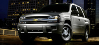2005 Chevrolet TrailBlazer, Front Quarter View, manufacturer, exterior