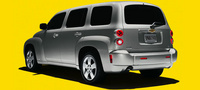 2007 Chevrolet HHR LS, Rear Quarter Profile, exterior, manufacturer