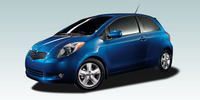 2007 Toyota Yaris Base 3 Dr Hatchback, Side View , exterior, manufacturer