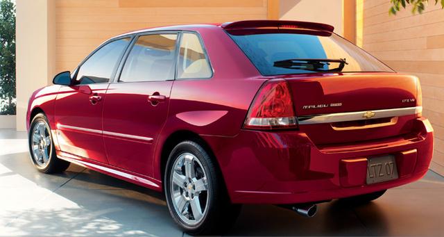 2007 Chevrolet Malibu Maxx, 2007 Malibu Maxx, exterior, manufacturer