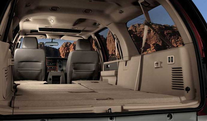 2007 Ford Expedition, trunk space, manufacturer, exterior