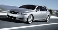 2007 Lexus GS 430 Base, Front Quarter View, exterior, manufacturer