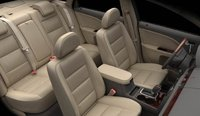 2008 Ford Taurus, seating, interior, manufacturer