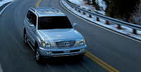 2007 Lexus LX 470 Base, Overview, exterior, manufacturer