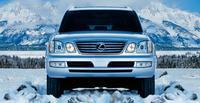 2007 Lexus LX 470 Base, Front Bumper View, exterior, manufacturer