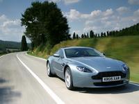 2007 Aston Martin V8 Vantage Coupe, Front-quarter view., exterior, manufacturer