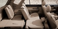 2007 Kia Rondo, seats fold down, interior, manufacturer