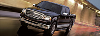 2007 Lincoln Mark LT Extended 4WD, Front Corner View, exterior, manufacturer