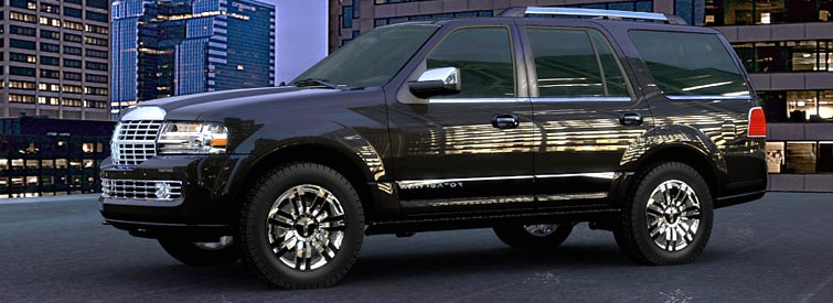 2007 Lincoln Navigator L, Side View, manufacturer, exterior