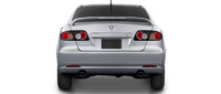 2007 Mazda MAZDA6 s Sport - Value Edition, Back View, manufacturer, exterior