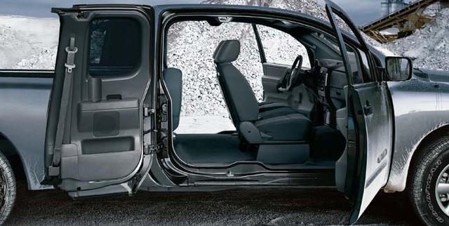 2007 Nissan Titan, view through doors, exterior, interior, manufacturer