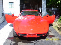 1979 Chevrolet Corvette Coupe, FRONT PIC