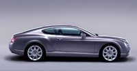 2004 Bentley Continental GT, Side view, exterior, manufacturer