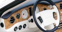 2007 Bentley Azure, steering wheel, interior, manufacturer