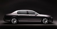 2007 Bentley Continental Flying Spur, side view, exterior, manufacturer