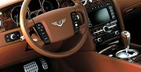 2007 Bentley Continental GT, steering wheel, interior, manufacturer