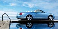 2007 Bentley Continental GT Convertible, side view, exterior, manufacturer