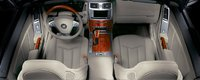 2007 Cadillac XLR, aerial view of front seat, interior, manufacturer