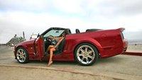 2007 Ford Mustang, Left Side, exterior, manufacturer
