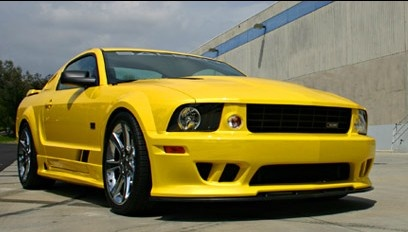 2007 Ford Mustang, Front Right Side View, exterior, manufacturer